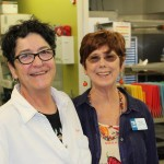 Director of Food Services Teresa Norton and Board Member Haila Harvey